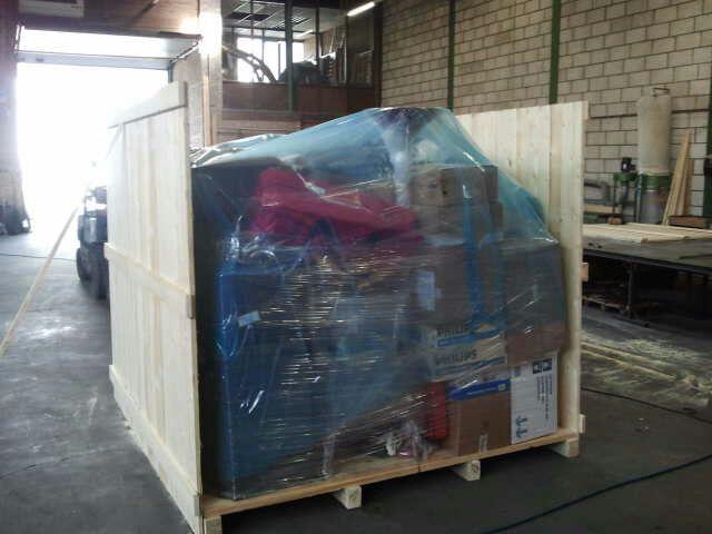 Export verpakking